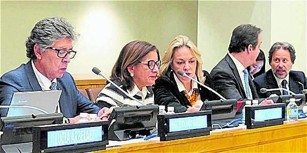 El evento estuvo encabezado por la presidenta de la Corte  Suprema de Justicia de Colombia, Margarita Cabello.