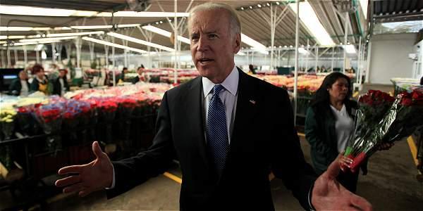 En la gira que Biden hizo por Colombia en mayo del 2013 visitó un cultivo de flores en Madrid (Cundinamarca). Se llevó varias sorpresas.