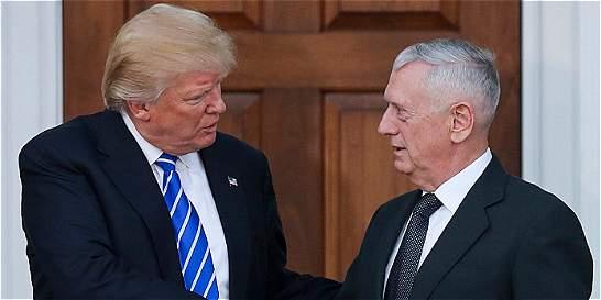 Donald Trump nombró a James Mattis como nuevo secretario de Defensa