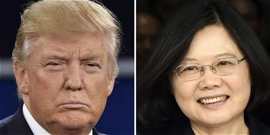 Una llamada, el primer conflicto diplomático de Trump con China