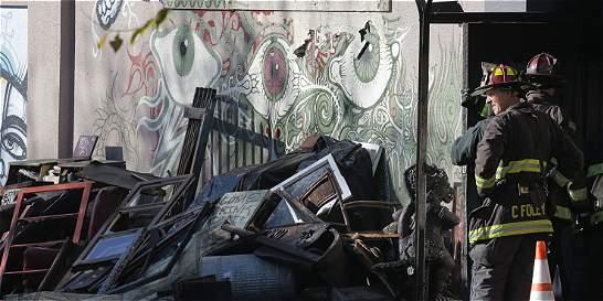 Ya son 33 los muertos por incendio en Oakland, EE. UU.
