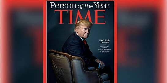 Donald Trump fue designado 'Persona del año' por la revista 'Time'