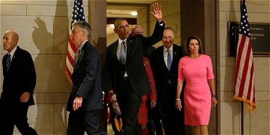 Primera batalla de Trump será contra el 'Obamacare'
