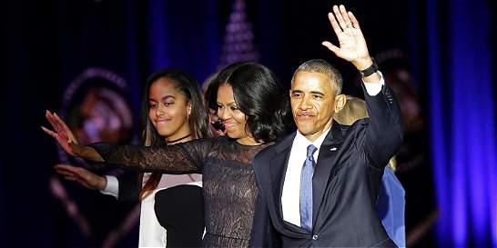 Las despedidas virales de la familia Obama de la Casa Blanca