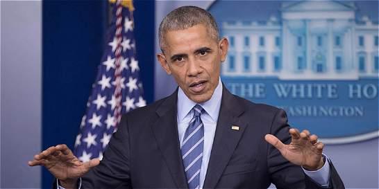 Obama promete actuar si valores están en riesgo