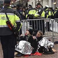 Disturbios en Washington por investidura de Trump