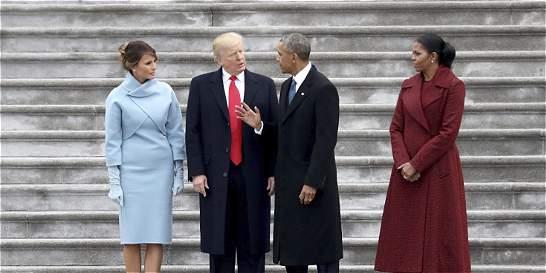 Las familias de la Casa Blanca: Obama y Trump