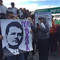 Protestas contra Trump en la frontera