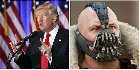 El parecido entre el discurso de Trump y el de Bane, enemigo de Batman
