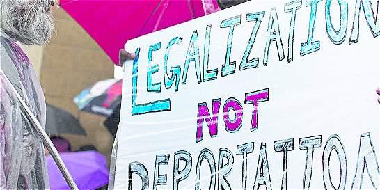 Con 'uñas y dientes' prometen defensa de los inmigrantes