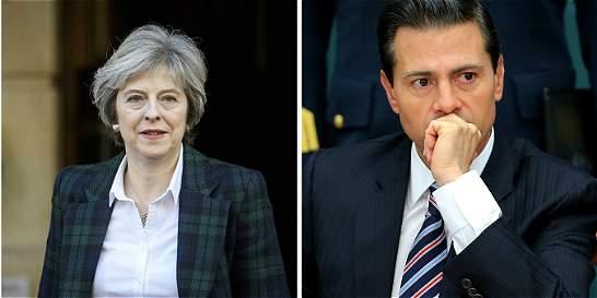 Peña Nieto y Theresa May serán los primeros en visitar a Trump