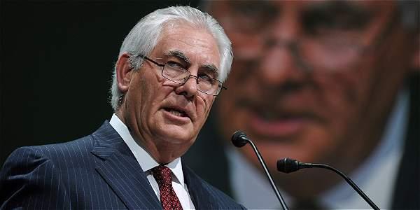 Rex Tillerson, secretario de Estado de EE. UU.