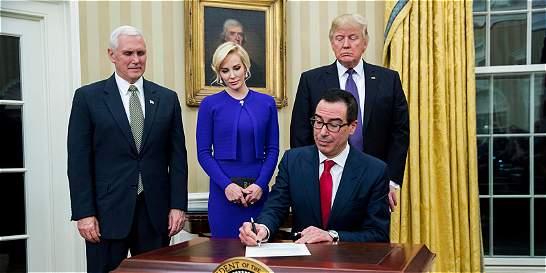 Multimillonario Steve Mnuchin, nuevo secretario del Tesoro de EE. UU.