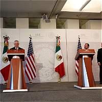Tillerson dice que se acordó con México mantener orden en la frontera