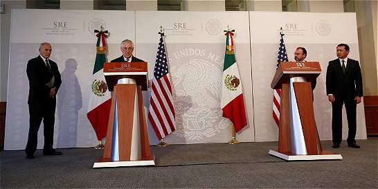 EE. UU. y México acuerdan mantener 'la ley y el orden' en la frontera