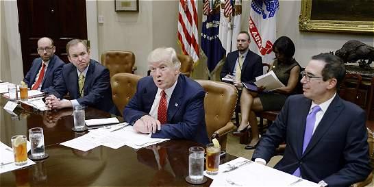 Trump propone aumentar en US$ 54.000 millones el gasto militar