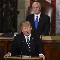 Diez frases claves del primer discurso de Trump ante el Congreso