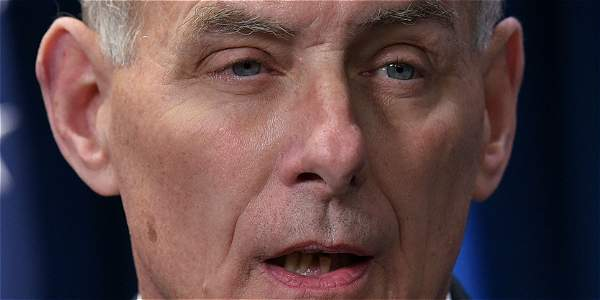 El secretario de Seguridad Nacional de EE. UU., John Kelly.