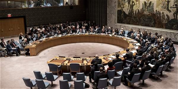 Imagen de archivo del Consejo de Seguridad de la ONU.