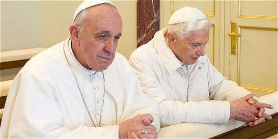 ¿Francisco y Benedicto verán juntos la final del Mundial?