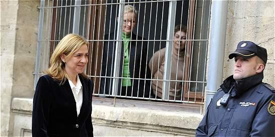 'Infanta Cristina ya tiene una condena popular'