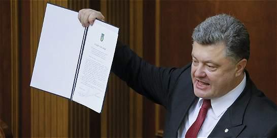 El Parlamento Europeo ratifica acuerdo de asociación con Ucrania