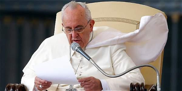 El máximo representante de la Iglesia católica alertó de la posibilidad de que, al aplicar la pena de muerte,