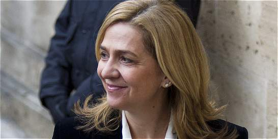 Fiscal exculpa a la infanta Cristina por caso de corrupción