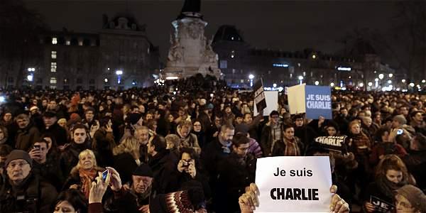 'Je suis Charlie': el mundo llora a Charlie Hebdo