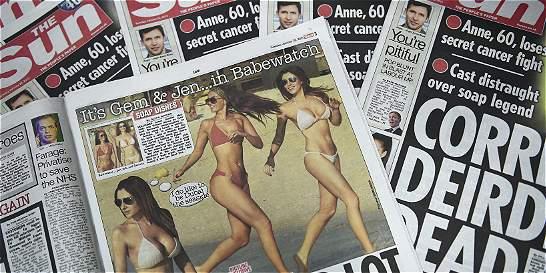 'The Sun' sale a la calle sin su toples de la 'Página 3'