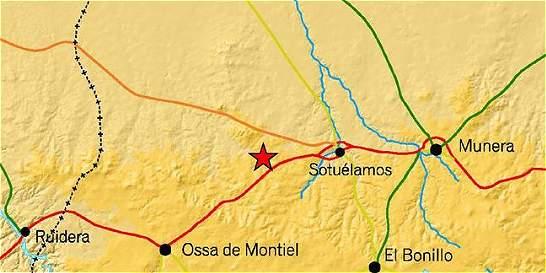 Temblor de magnitud 5,2 se sintió en el centro de España