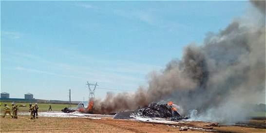 Al menos tres muertos en accidente de avión militar al sur de España