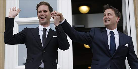 Primer ministro de Luxemburgo, primer líder de UE que contrae boda gay