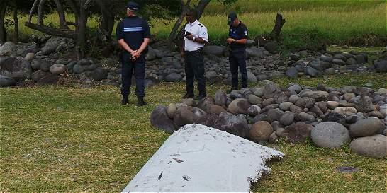 Analizan corrientes oceánicas para buscar de dónde vino ala del MH370