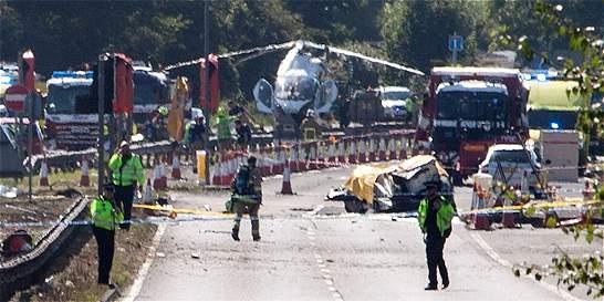 Siete muertos por accidente en exhibición aérea en Inglaterra