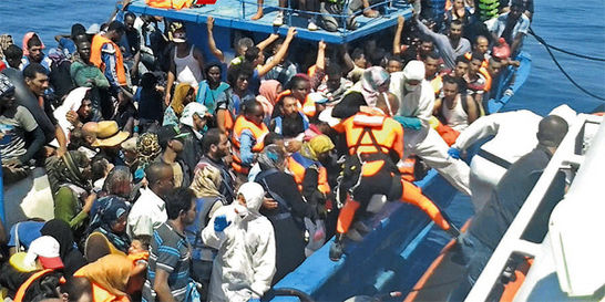 Las respuestas migratorias de la UE naufragan en el mar mediterráneo
