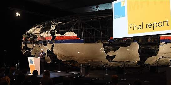Pedidos de justicia tras reporte final sobre accidente del avión MH17