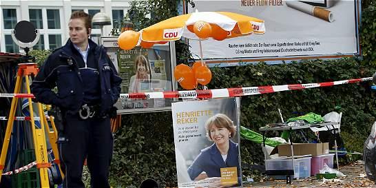 Presunto ataque xenófobo a candidata a una alcaldía sacude Alemania