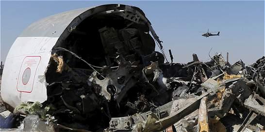 Londres sospecha que avión ruso se estrelló en el Sinaí por una bomba