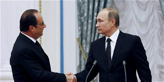 La apuesta de Putin y Hollande en contra del terrorismo