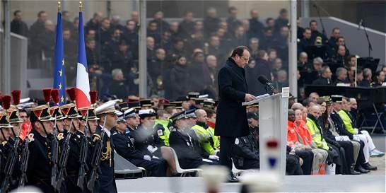'Prometo destruir al Estado Islámico', dice François Hollande