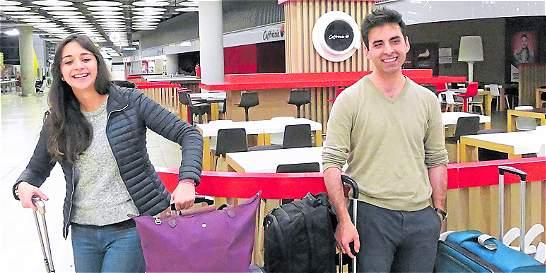 El primer viaje a la Unión Europea de colombianos sin visa