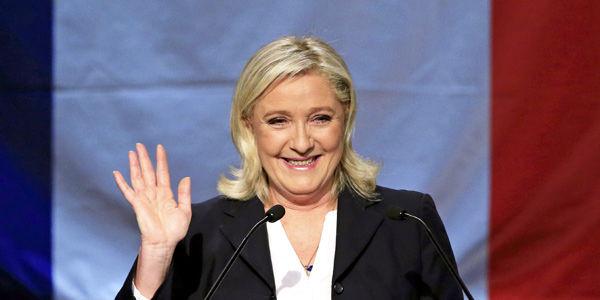 Marine Le Pen quiere aprovechar el momento político y social de Francia.