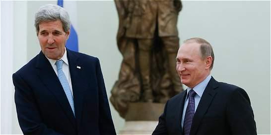 Kerry se reúne con Putin en Moscú para hablar de Siria