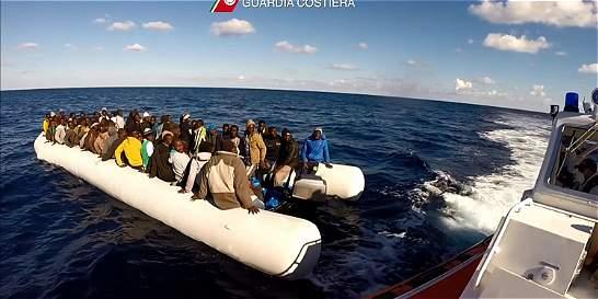 Autoridades italianas rescataron 2.709 inmigrantes en los últimos días