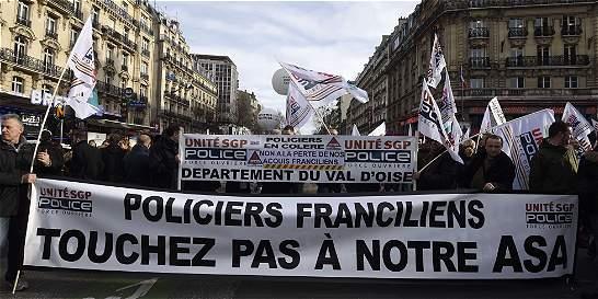 Día de huelgas en Francia, con algunos incidentes en París