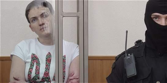 Justicia rusa declara culpable de asesinato a Nadezhda Sávchenko