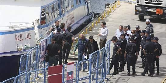 Italia rescata a 4.000 migrantes en el canal de Sicilia