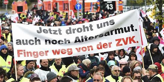Decenas de afectados por huelga en seis aeropuertos alemanes