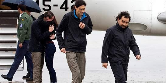 Vuelven a casa tres periodistas españoles rehenes de Al Qaeda en Siria
